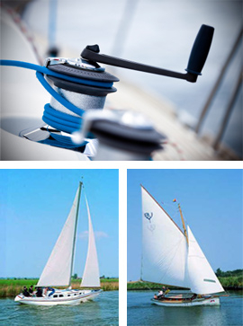 Sailing Courses on the Norfolk Broads